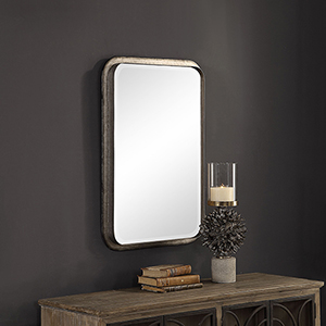 Madox Galvanized Iron Mirror