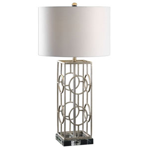 Lillie Silver Table Lamp