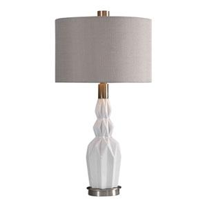 Arlington Gloss White Ceramic Table Lamp