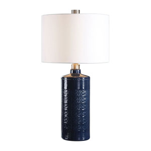 Chester Royal Blue Table Lamp