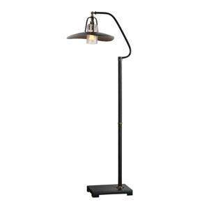 Pleasanton Black Iron Floor Lamp