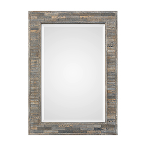 River Station Charcoal Blue Mirror