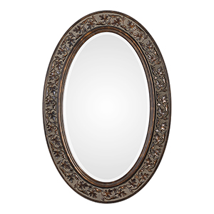 Wellington Bronze and Antique Gold Mirror