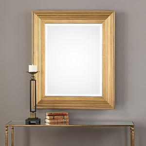 Wellington Gold Leaf Mirror