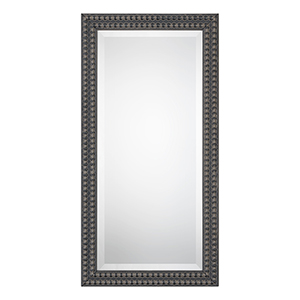 Wellington Black and Taupe Mirror