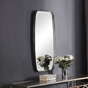 Afton Antique Silver Mirror