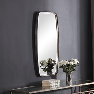 Afton Antique Silver Mirror