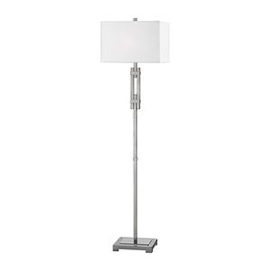 Selby Brushed Nickel One-Light Floor Lamp