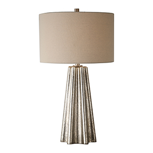 Whittier Silver One-Light Table Lamp