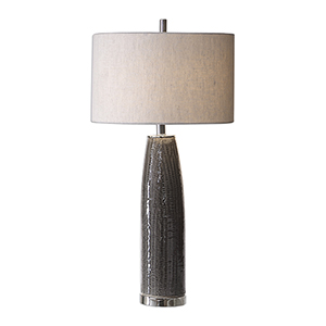 Selby Gray One-Light Table Lamp