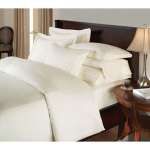 Ambience White Twin 71x96 Flat Sheet Linen