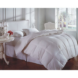 Cascada White Supreme King 120x120 94oz Comforter