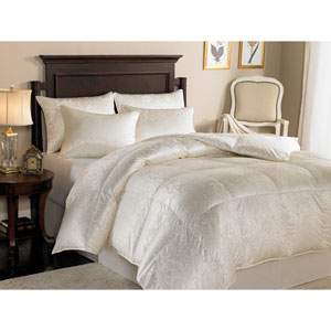 Eliasa Ecru All-year Grade A Iceland Eiderdown Twin Comforter