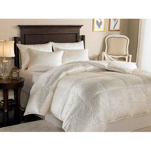 Eliasa Ecru Twin 68x86 25oz Comforter