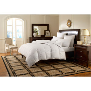 Logana White Twin 68x86 28oz Comforter