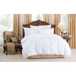 Nirvana White Twin 68x86 25oz Comforter
