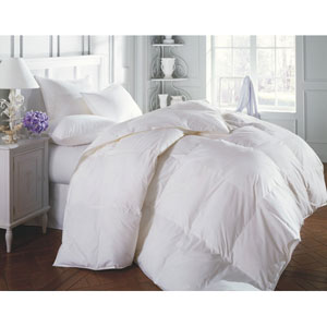 Sierra White Super Queen 110x110 60oz Comforter