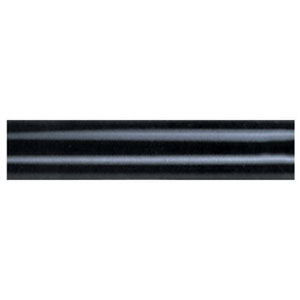 Black 60-Inch Ceiling Fan Downrod Extension