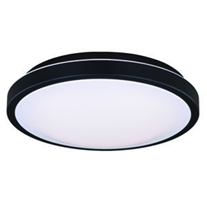 Aries Oil Burnished Bronze 12-Inch LED Flush Mount