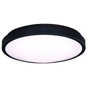 Aries Oil Burnished Bronze 14-Inch LED Flush Mount