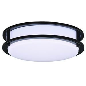 Horizon Oil Burnished Bronze LED Energy Star Flush Mount