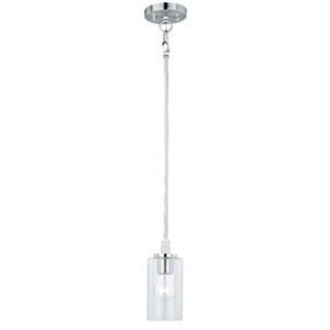 Addison Satin Nickel 5-Inch 1-Light Mini Pendant