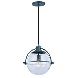 630 Series Black Iron One-Light Globe Pendant