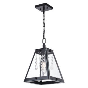 Tremont Matte Black One-Light Mini Pendant