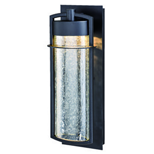 Logan Carbon Bronze 5.5-Inch LED Outdoor Wall