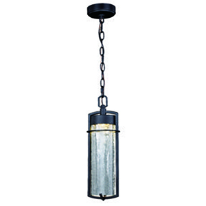 Logan Carbon Bronze 5.5-Inch LED Outdoor Pendant