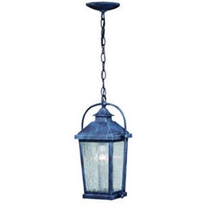 Lexington Colonial Gray Eight-Inch 1-Light Outdoor Pendant