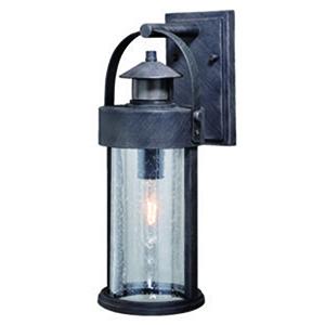 Cumberland Rust Iron 6-Inch One-Light Outdoor Motion Sensor