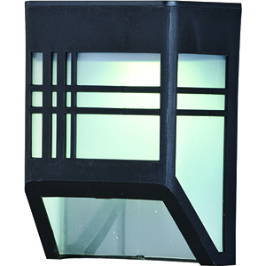 Terrace Black Four-Inch LED Outdoor Wall Sconce
