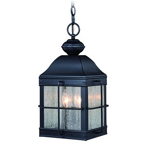 Revere Oil Rubbed Bronze Three-Light Outdoor Pendant