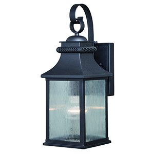 Cambridge Oil Rubbed Bronze Six-Inch One-Light Outdoor Wall Mount