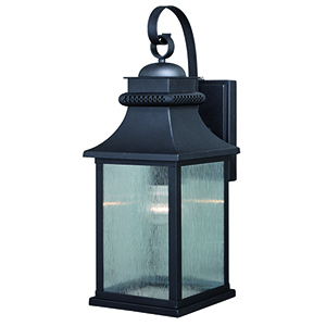 Cambridge Oil Rubbed Bronze One-Light Outdoor Wall Mount