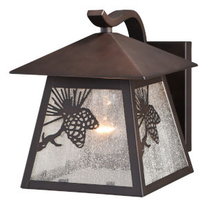 Whitebark Warm Bronze 21-Inch One-Light Outdoor Wall Sconce