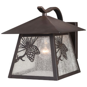 Whitebark Warm Bronze One-Light Outdoor Wall Sconce