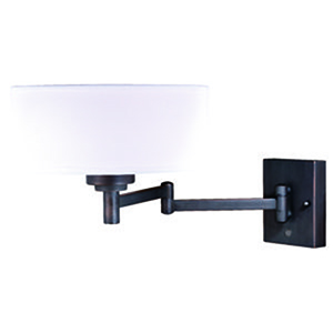 Chapeau Noble Bronze 12-Inch 1-Light Sensor Wall Sconce