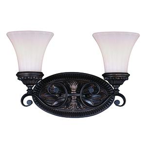 Avenant Venetian Bronze Two-Light Reversible Vanity Light