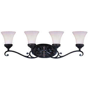 Avenant Venetian Bronze Four-Light Reversible Vanity Light