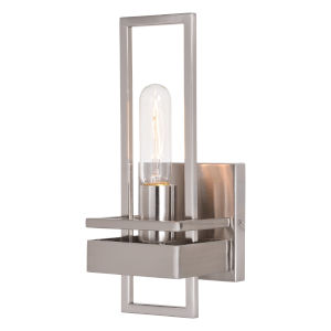Marquis Satin Nickel One-Light Wall Sconce
