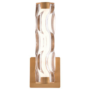 Marseille Natural Brass ADA LED Bath Sconce