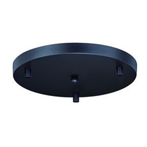 Canopy Accessory Oil Rubbed Bronze 12-Inch Three-Light Canopy