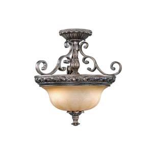 Bellagio Parisian Bronze Two-Light Semi-Flush