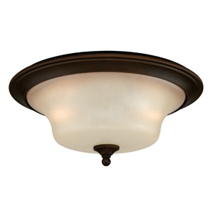Sonora Two-Light Venetian Bronze Ceiling Light