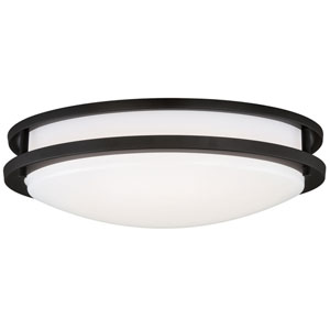 Horizon LED 16-Inch Oil Burnished Bronze One-Light Flush Mount