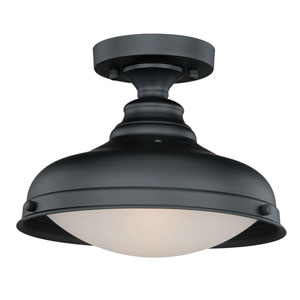 Keenan Oil Rubbed Bronze Two-Light Semi-Flush Mount