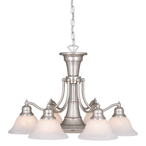 Standford Brushed Nickel Seven-Light Chandelier