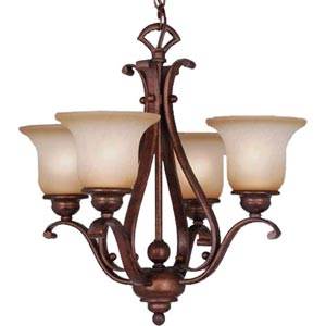 Monrovia Four-Light Chandelier